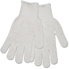Memphis PVC Dot String Knit Gloves