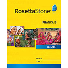 Rosetta Stone French Level 1 Windows