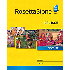 Rosetta Stone German Level 1 Windows