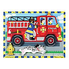 Melissa Doug Fire Truck 18 Piece