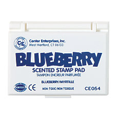 Center Enterprise Scented Stamp Pads Blueberry