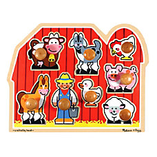Melissa Doug Large Farm 8 Piece