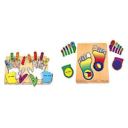 Melissa Doug Hands And Feet Counting