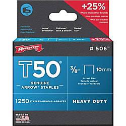 Arrow T50 Heavy Duty Staples 38