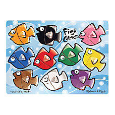 Melissa Doug Fish Colors Mix N