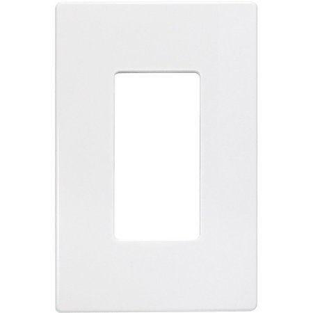insteon 2422 222 screwless wall plate single gang white by office depot. Black Bedroom Furniture Sets. Home Design Ideas