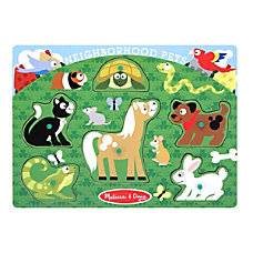 Melissa Doug Neighborhood Pets 6 Piece