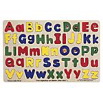 Melissa Doug Upper And Lowercase Alphabet