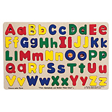 Melissa Doug Upper And Lowercase Alphabet