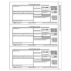 ComplyRight 3921 InkjetLaser Tax Forms Corporation