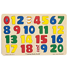 Melissa Doug Numbers 0 20 Puzzle
