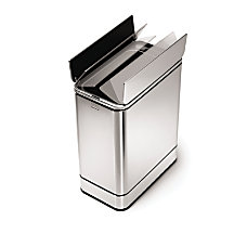 simplehuman Brushed Stainless Steel Butterfly Sensor