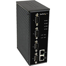 StarTechcom 4 Port Industrial RS 232