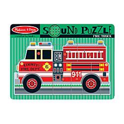 Melissa Doug Fire Truck 9 Piece