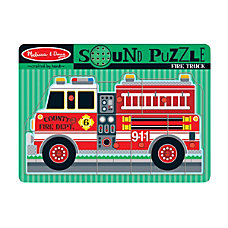 Melissa Doug Fire Truck 9 Piece