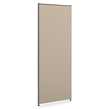 basyx by hon verse panel system 72 h x 36 w gray by office