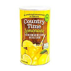 Country Time Lemonade Mix 515 Lb
