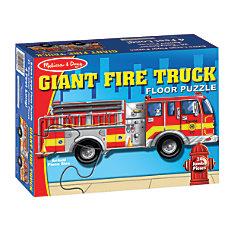 Melissa Doug Giant Fire Truck 24