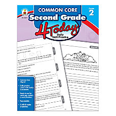 Carson Dellosa Common Core 4 Today