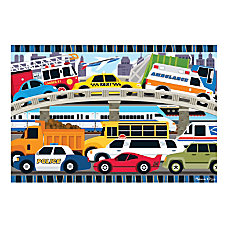Melissa Doug 24 Piece Traffic Jam