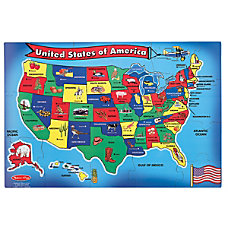 Melissa Doug 51 Piece USA Map