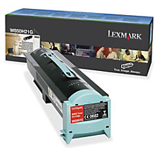 Lexmark W850H21G High Yield Black Toner