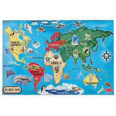 Melissa Doug 33 Piece World Map