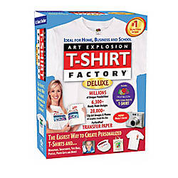Art Explosion® T-Shirt Factory® Deluxe 3.0, Traditional Disc