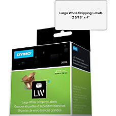 DYMO White LabelWriter Shipping Labels 2