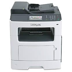 Lexmark™ MX410de Monochrome Laser All-In-One Printer, Copier, Scanner, Fax