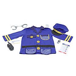 Melissa Doug Police Officer 8 Piece