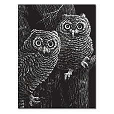 Melissa Doug Black Coated Scratchboards 8