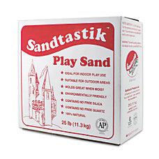 Sandtastik Play Sand 25 lb Sparkling