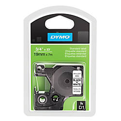 DYMO D1 45803 Black On White