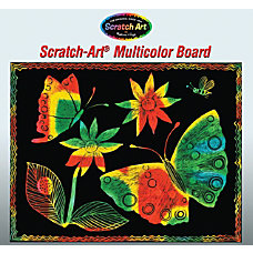 Melissa Doug Soft Scratch Boards 8