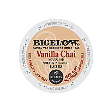 Bigelow Vanilla Chai Tea K Cups