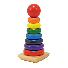 Melissa Doug Rainbow Stacker