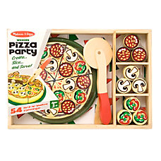 Melissa Doug 64 Piece Pizza Party