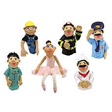 Melissa Doug Puppet Set 1 Set
