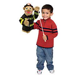 Melissa Doug Firefighter Puppet