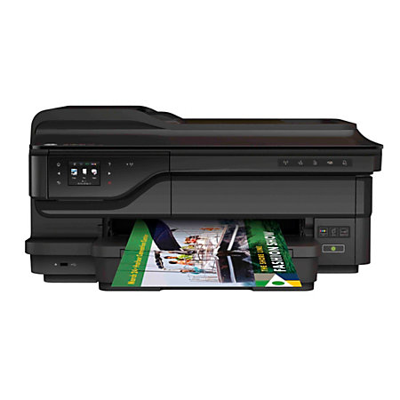 HP Officejet 7612 Wide Format Wireless Color Inkjet All In One Printer Scanner Copier And Fax by ...