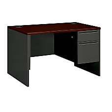 HON 3800 Series Right Pedestal Desk