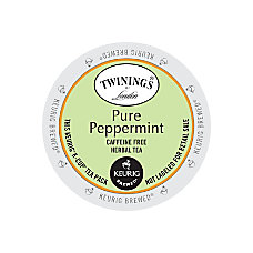 Twinings Pure Peppermint Tea K Cups