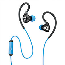 JLab Fit 20 Sport Earbuds Blue
