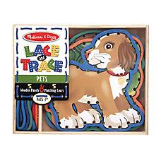 Melissa Doug Pets 10 Piece Lace