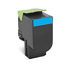Lexmark 80C1XC0 High Yield Cyan Toner