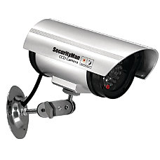 Security Man Simulated Indoor Surveillance Camera