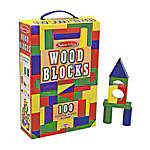 Melissa Doug 100 Wood Blocks Set