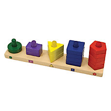 Melissa Doug Stack Sort Board