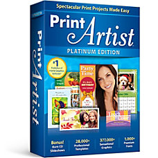 Print Artist Platinum 25 Download Version
